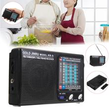 KK-9 Pocket 9 Radio Wireless Speakers Portable AM/FM Mini Telescopic Antenna Handsfree Mono Channel Receiver Speaker