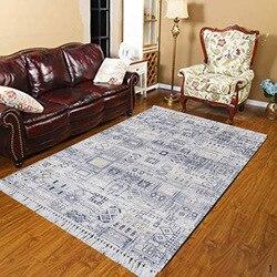 Innego Nordec czarny biały ikat skandynawski Geometrics 3d drukuj Anti Slip Kilim zmywalny dekoracyjne Kilim dywan czeski dywan w Dywan od Dom i ogród na