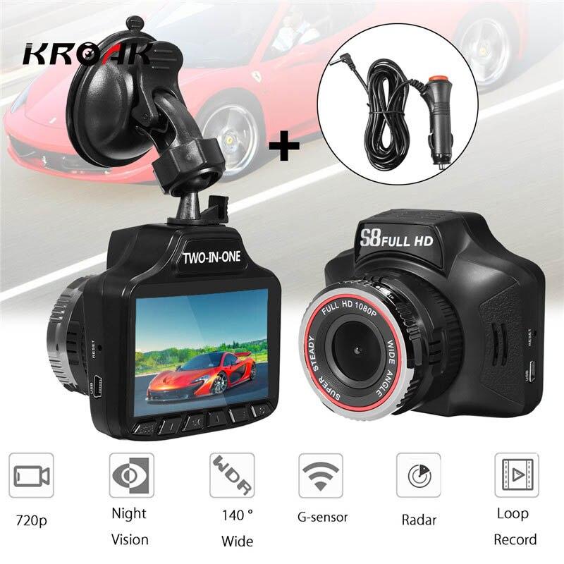 1080P HD Car Camera Recorder 3 Car DVR Road Dash Camera 140 Wide-Angle Video Camcorder Support G-sensor/Loop Video/Night Vision ambarella a7 hd 18mp 1080p 60fps cmos 170 wide angle night vision car dvr camcorder black