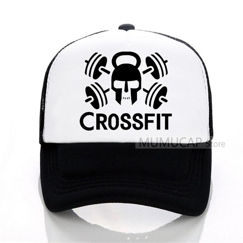08a17493dc3 GYM Crossfit Kettle-bell Fitness Baseball cap Men women Trucker Cap Summer  sports and fitness