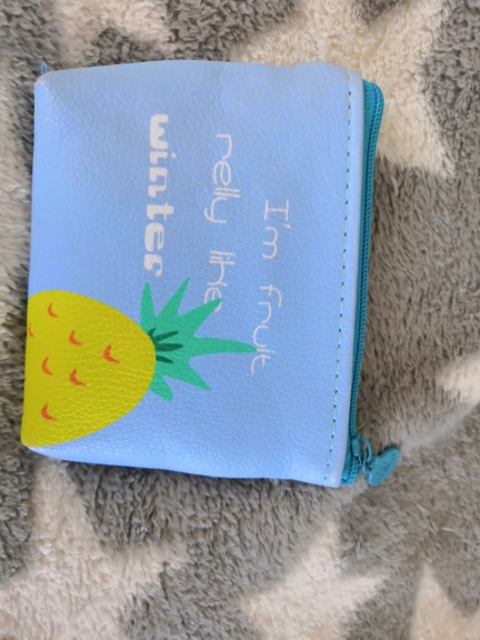 Billtera Zomer New Brand Lederen Portemonnees Kleine Verse Casual Pu Munt Portemonnee Dame Mode Vruchten Patroon Cartoon Dollar Geld Tas photo review