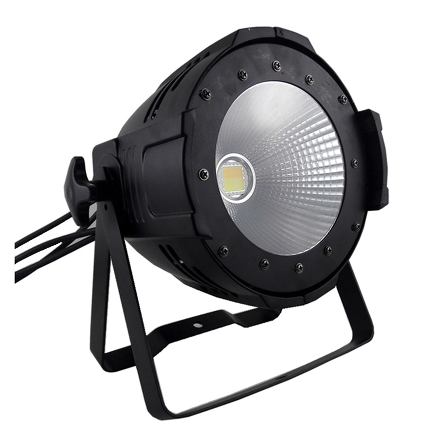 100W LED COB Par Light High power stage studio Parcan Cold white/warm white Wash Stage Lighting  rasha brand 2 100w 2in1 cob ww cw led blinder light stage audience studio blinder light theater light