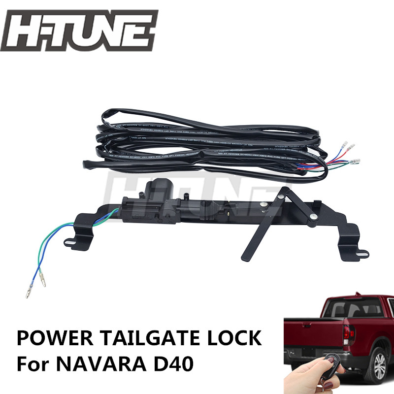 Pop Up Lock js 4x4 Power Tailgate Security Lock For NAVARA D40 diff drop kit for hilux