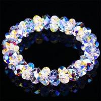 SWAN JEWELRY handmade DIY Girls jewelery Luxury Fine White crystal bracelets elegant charm fine wedding jewelry romantic trendy