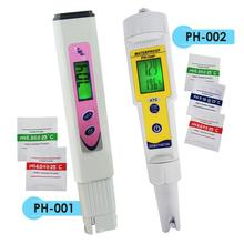 Digital Pentype Water pH Tester Quality Meter 0~14pH Backlight LCD Hydroponics Aquarium Pool Wine Cola Fish Tank