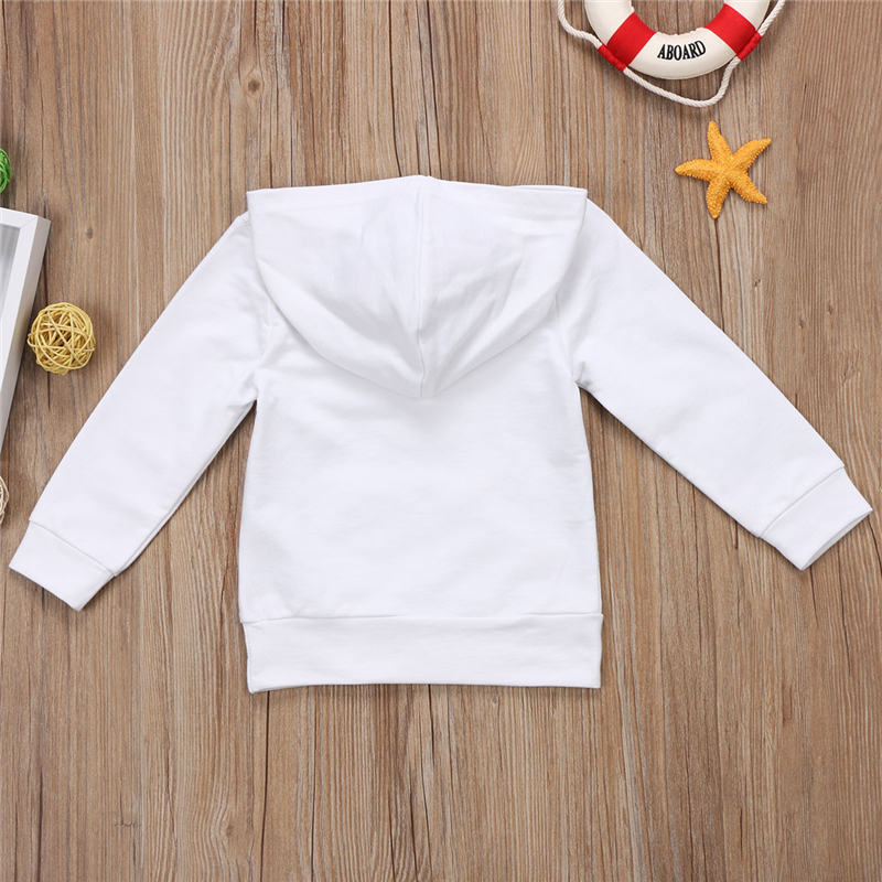 UTB8SDHHarPJXKJkSafSq6yqUXXa1 - Stylish Young Kids Cotton Hoodie Long Sleeve Sweatshirt with Letter Print Front