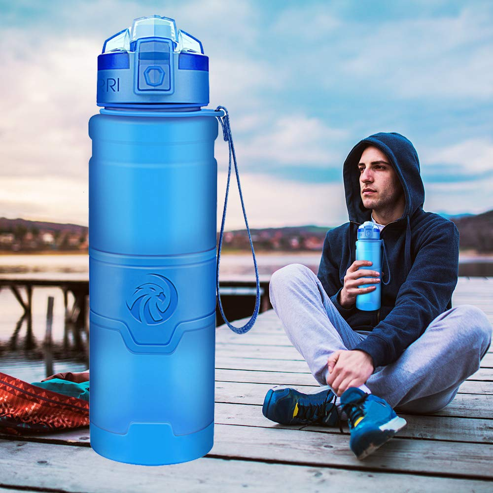 Best Water Bottle  BPA Free Plastic Drinkware Tour hiking Portable Climbing Camp Bottles For Water gourde botella de agua|Water Bottles|   - AliExpress