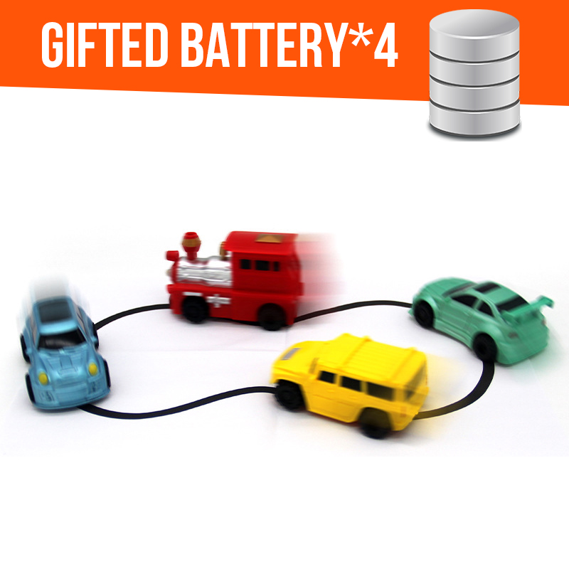 1 unids Pluma Mágica Camión Inductivo Mini Puzzle Siga Cualquier - Vehículos de juguete para niños - foto 2