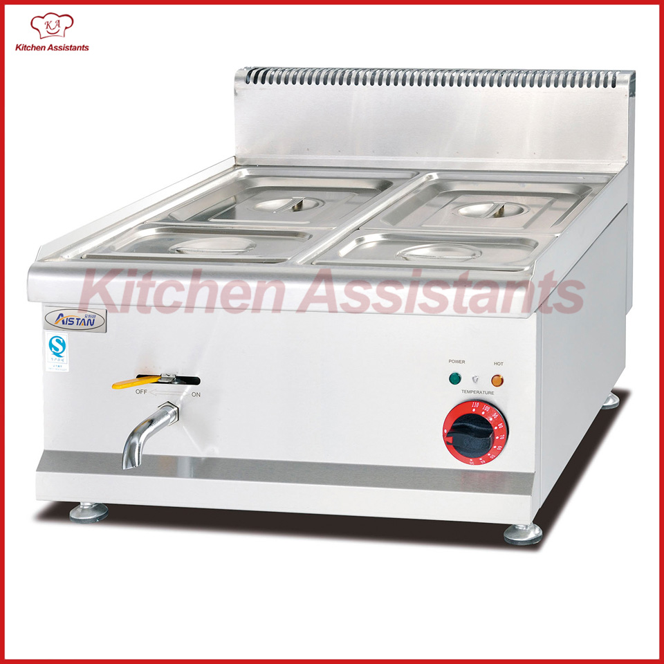 EH684 Counter Top Electric Bain Marie of catering equipment gh534 counter top commercial vertical gas bain marie of catering equipment