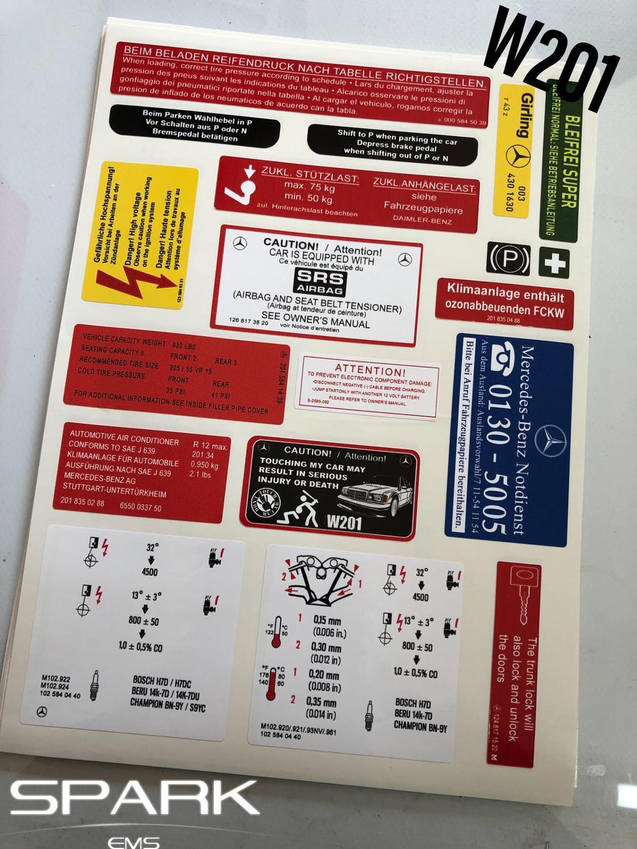 "VDO gauge style Sticker Set Decal 5/"" set of 2"