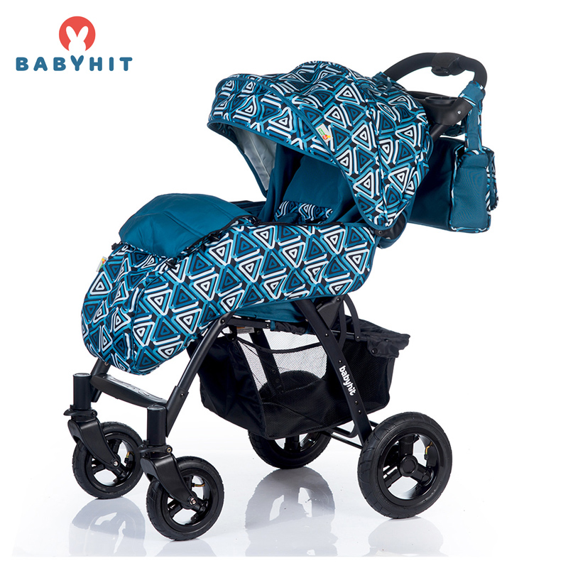Four Wheels Stroller BabyHit TRAVEL AIR Kidstravel four wheels stroller babyhit travel air kidstravel