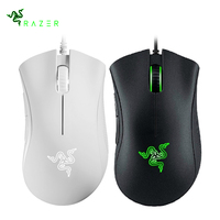 Razer DeathAdder Essential USB Wired Gaming Mouse 5 Programmable Buttons 6400 DPI Optical Sensor Ergonomic Mice for PC Computer
