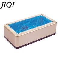 JIQI Automatic Shoe Cover Machine Disposable Foot Film Laminator Home Office Overshoes Set Membrane Laminating Covers