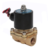 New DC 12V 1/2 Normal Closed Electric Solenoid Valve for Water Air Fuels Gas Zinc Alloy Body Valve