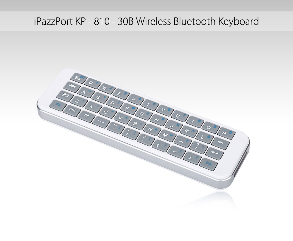 1d980ce36b4 ... Other Bluetooth Devices - Add Bluetooth device, and you would find iPazzPort  Bluetooth, connect it. After connected, the keyboard would work soon.