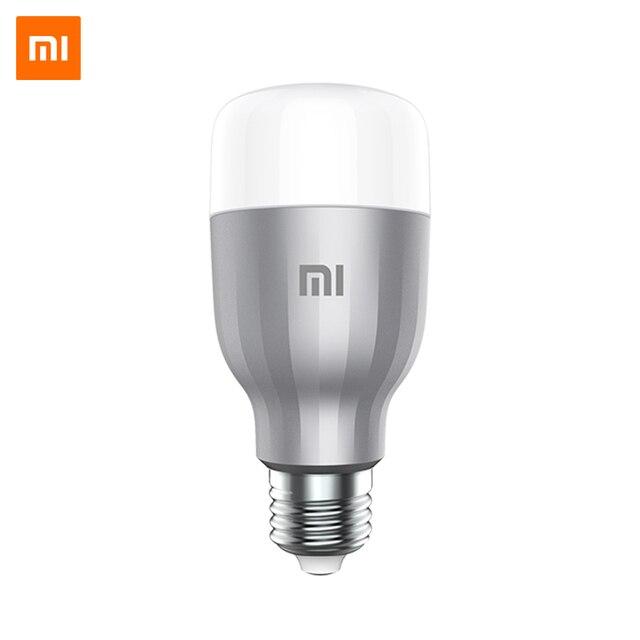 Умная светодиодная лампа Xiaomi Smart Bulb, Цоколь E27,  Приложение MiHome
