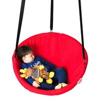Hanging chair disc hammock swing for indoor and outdoor, Svava Relax Seat Swing 80 cm 1 Pcs Carrier Hanging Belt GIFT