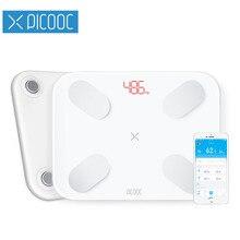 PICOOC S1 весы весовые шкалы цифровой шкалы жира тела Ванная комната весы Весы напольные электронные напольные весы здоровье с APP