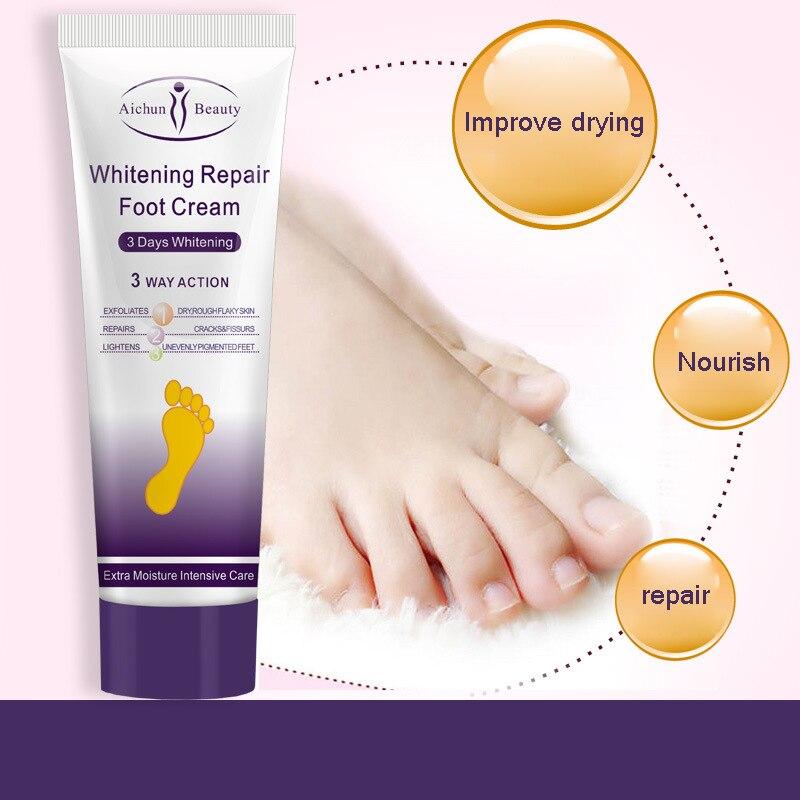 Aichun Reparatur Anti Crack Whitening Cream Riss Ferse Creme Fuß Peeling Rissige Hände Füße Trockene Haut Feuchtigkeitsspendende Fußpflege