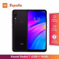 Xiaomi Redmi 7 (16GB ROM, 2GB RAM, Batería de 4000 mAh, Android, Nuevo, Libre) [Teléfono Movil Versión Global para España] smartphone