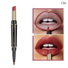 Pudaier-Crayon à lèvres 2 en 1 à Double extrémité, 16 couleurs, Crayon Avec Rouge à lèvres, Crayon, maquillage Sexy, TSLM2