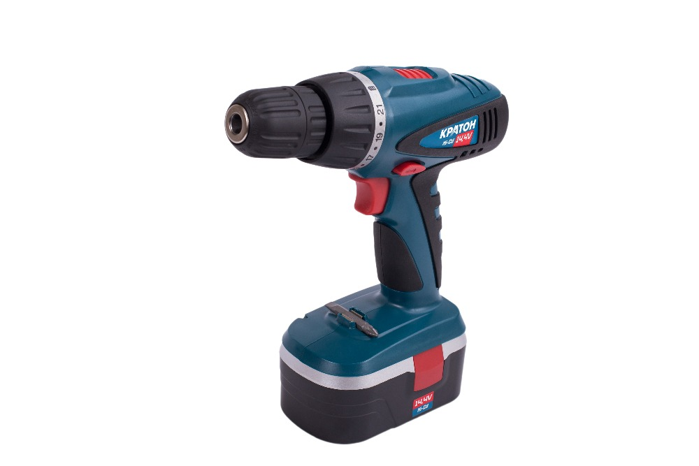 Drill-screwdriver rechargeable KRATON CDH-14-K cordless drill screwdriver kraton cd 14 k
