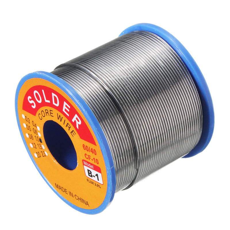 60/40 400g 1mm Rosin Core Solder Tin Lead Flux 2.0% Soldering Welding Iron Wire цена