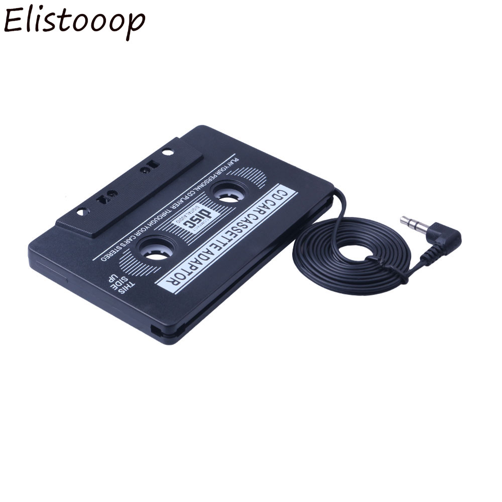 Cassette & Spieler 1 Pcs Mp4 Telefon Cd-player Auto Car Audio-kassette Adapter Für Ipod Mp3 Großhandel