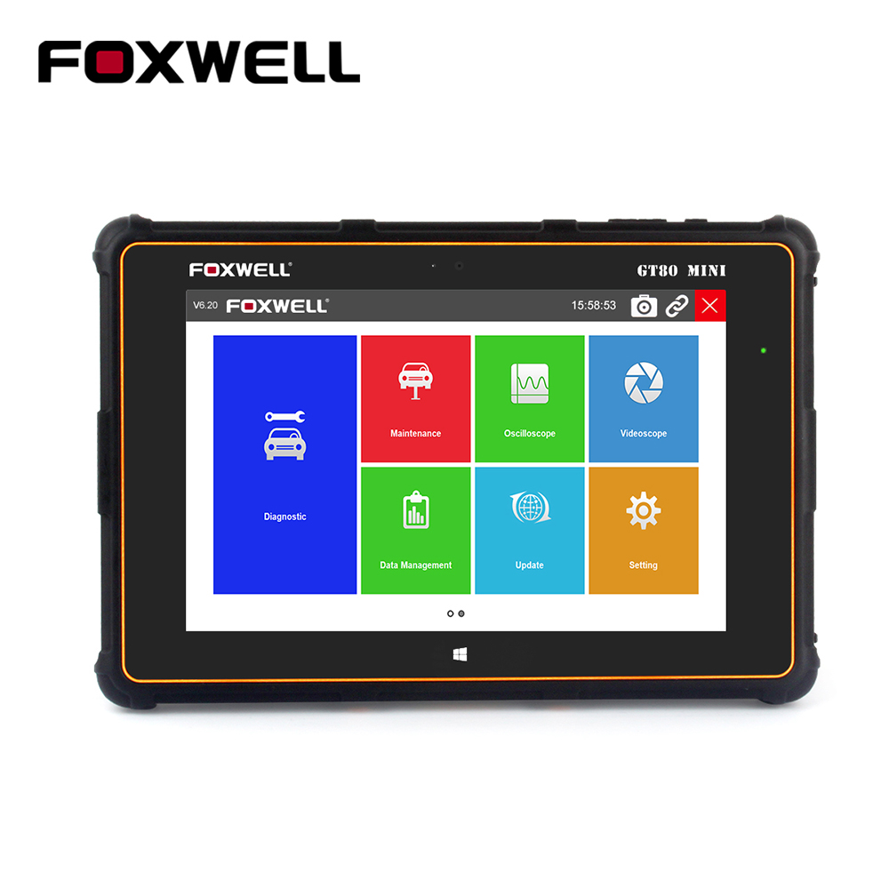 FOXWELL GT80 Mini OBD2 Car Diagnostic Tool Full System Automotive Scanner ABS Ai