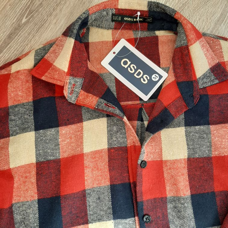 Early Spring Women Colorful Plaid Blouse Oversize Worsted Blends Ol Work Shirt High Quality Perfect Basics Tops photo review