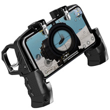 K21 PUBG Game Controller Gamepad Joystick Metal Trigger Shooting Butto