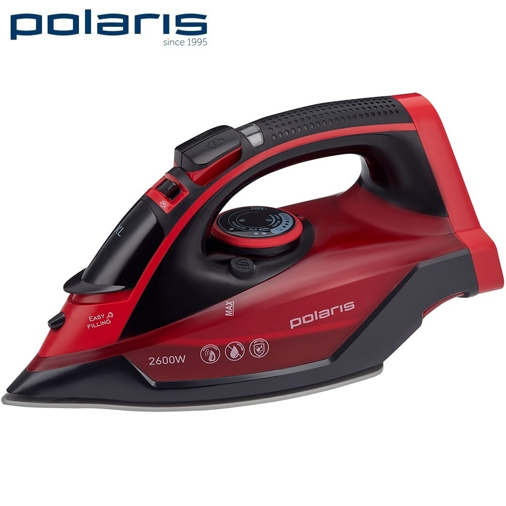 Iron Polaris PIR 2699 K Iron for ironing Mini iron steam iron Steam generator for clothing Irons Electric steamgenerator Small lson 30w welding nozzle for electric soldering iron silver 4 pcs