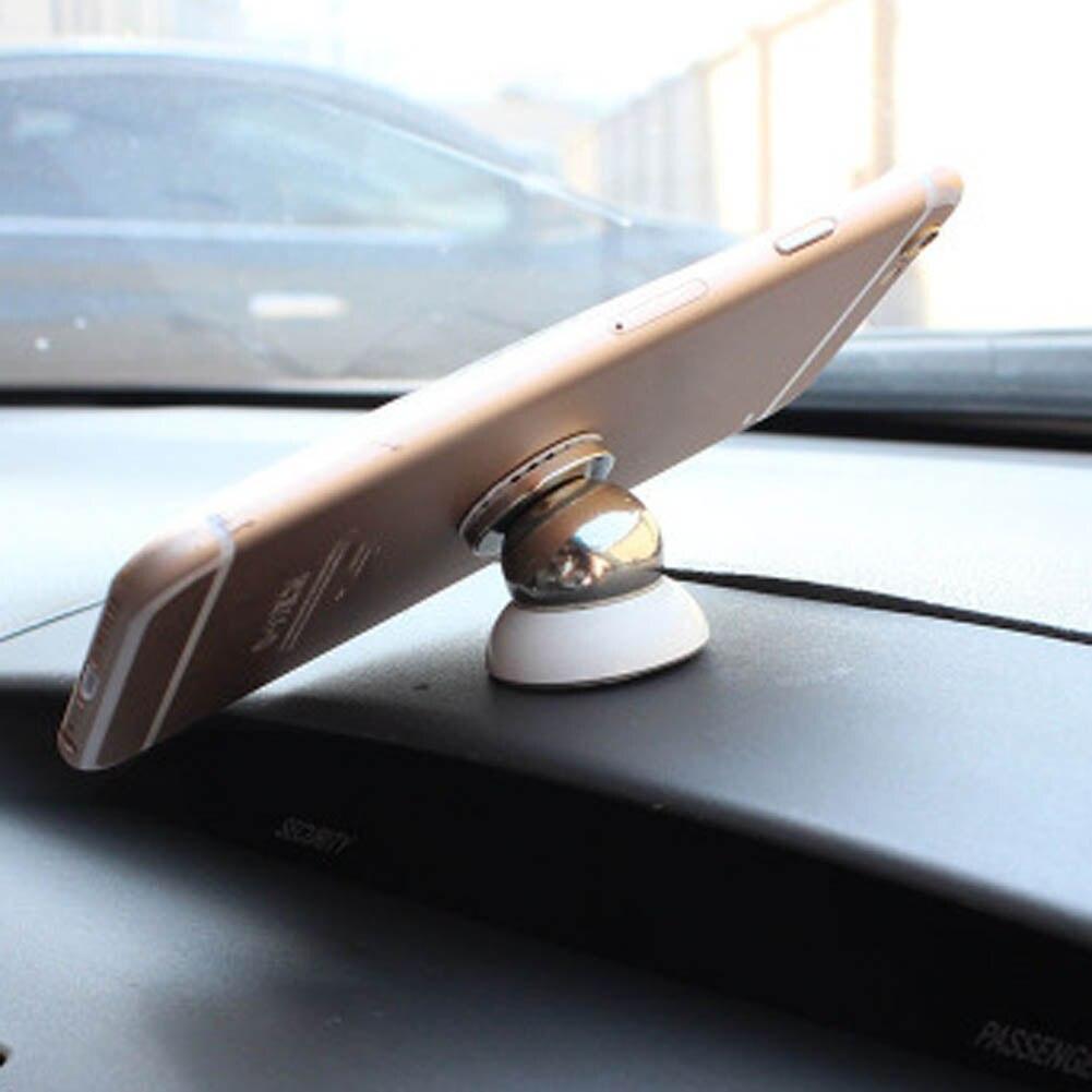 Мини магнитный держатель телефона приборной панели автомобиля Кронштейн многофункциональный универсальный стенд для 2 цвета