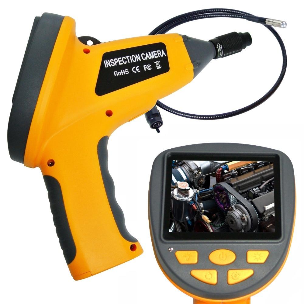 3 5 TFT Industrial Video Endoscope 3 9mm camera head Snakescope Borescope 180 Rotation Waterproof 1M
