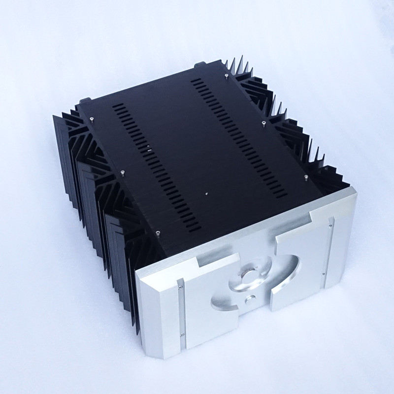 Breeze Audio small version three-quarters of PASS XA160.5 Big classA amplifier aluminum chassis/case