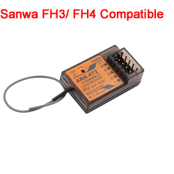 SkyArea ARX-472 Sanwa FH3 FH4 Compatible 4 Channel Surface Receiver For Racing RC Car Parts