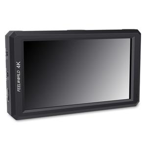 """Image 5 - FEELWORLD F6 5.7 """"na monitorze aparatu DSLR 1920X1080 4K HDMI ustawianie ostrości ostrości ultra cienki z wyjściem mocy ramienia pochylenia"""