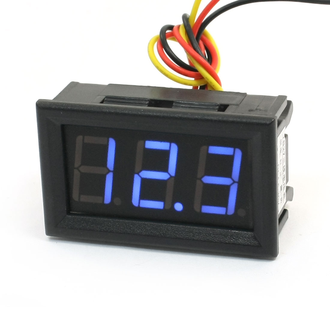 0-100V 7-Segment Blue Led Display Digital Voltmeter Volt Tester .  100v