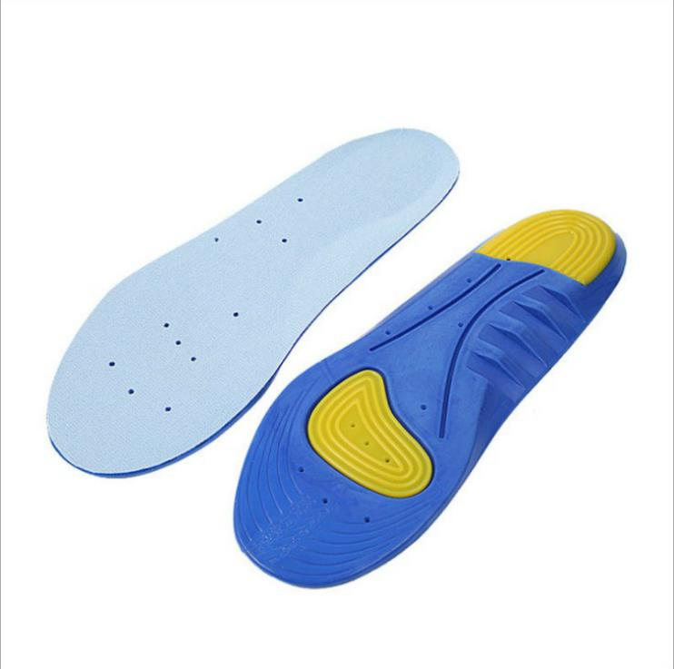 nsole men sweat breathable shock absorption running summer insole thickening insole CO1