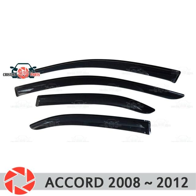 Оконный дефлектор для Honda Accord 2008 ~ 2012 дождь дефлектор грязи Защитная оклейка автомобилей украшения аксессуары литье