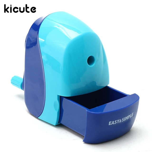 kicute best promotion hand crank manual pencil sharpening sharpener