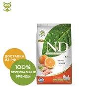 N&D Dog Fish & Orange Adult Mini корм для взрослых собак мелких пород, Рыба и апельсин, 2,5 кг.