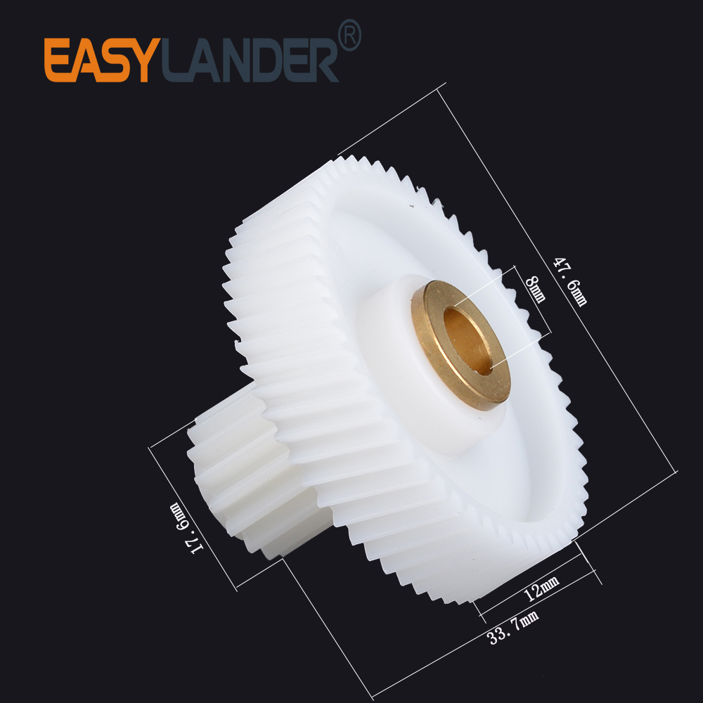 Meat Grinder Parts Plastic Mincer Gear Replacement for Elenberg MG-2501-18-3 5pcs meat grinder parts plastic gear fit zelmer a861203 86 1203 9999990040 420306564070 996500043314
