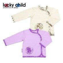Кофточка летняя Lucky Child арт. 11-17, 1 шт.(Цветочки) [сделано в России, от 2-х дней]