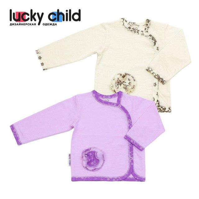 Кофточка летняя Lucky Child арт. 11-17, 1 шт. (Цветочки) [сделано в России, доставка от 2-х дней]