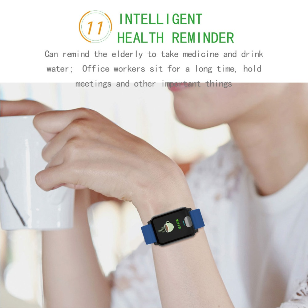I-SWIM E04 Smart Band Fitness Tracker ECG/PPG Blood Pressure Heart Rate Monitor Waterproof Smart Watch for Xiaomi Android IOS 15