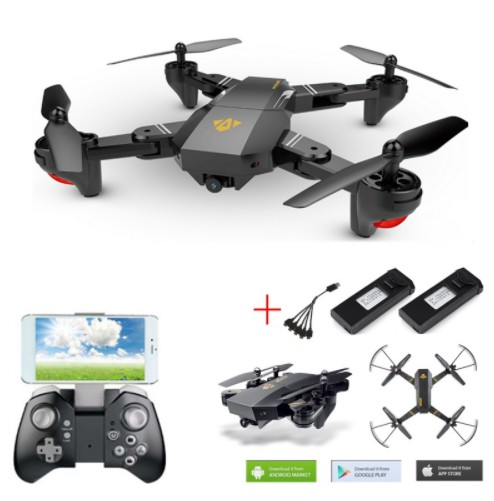 RC Drone With Camera VISUO Xs809 Xs809hw Fpv Dron Rc Helicopter Remote Control Toy For Kids VISUO Xs809hw Foldable Drone vs jjrc selfie drone with camera visuo xs809hw xs809w fpv quadcopter rc drone 4ch helicopter remote control toy for kids foldable drone
