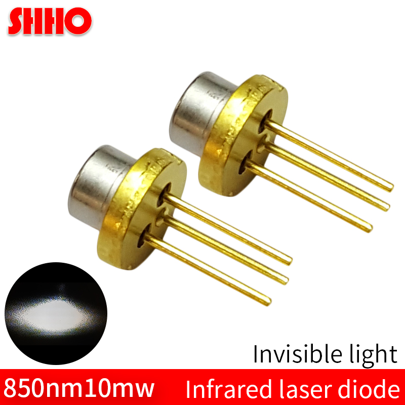 <font><b>Laser</b></font> semiconductor TO18/diameter 5.6mm <font><b>850nm</b></font> 10mw infrared <font><b>laser</b></font> <font><b>diode</b></font> invisible light launching accessories <font><b>laser</b></font> module part image