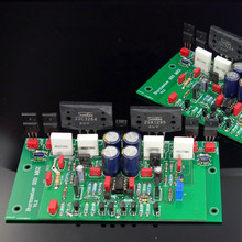 Assemble 2SC3264 2SA1295 HIFI Stereo Power Amplifier Board Based on Burmester 933 Amp  Circuit