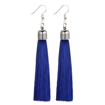 LOVBEAFAS Ethnic Fringe Tassel Earrings For Women Jewelry Bohemian Drop Long Pendientes Thread Statement Vintage Earrings